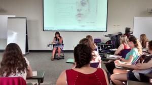 Keilah Sullivan reads at Otros Versos Sencillos April 17