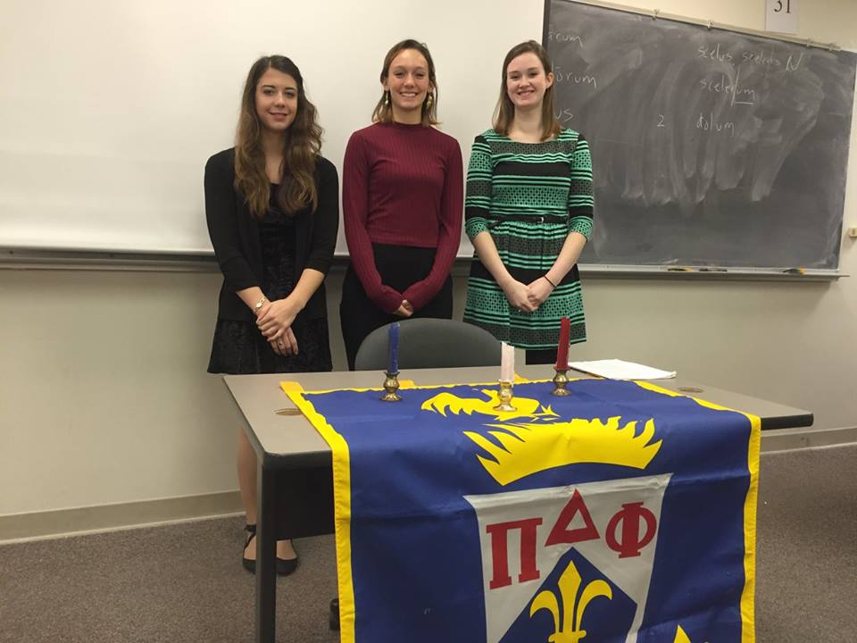 New Initiates to Pi Delta Phi