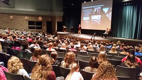 ROLA House Residents Talk to Branson Students
